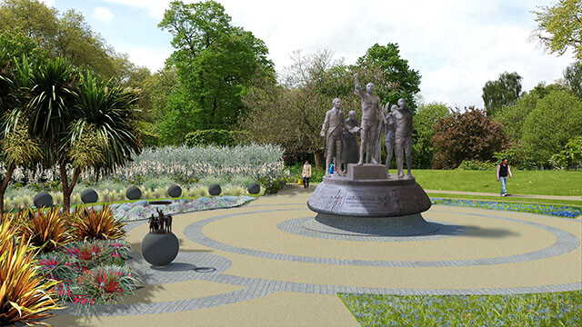 Enslaved Africans Memorial Garden